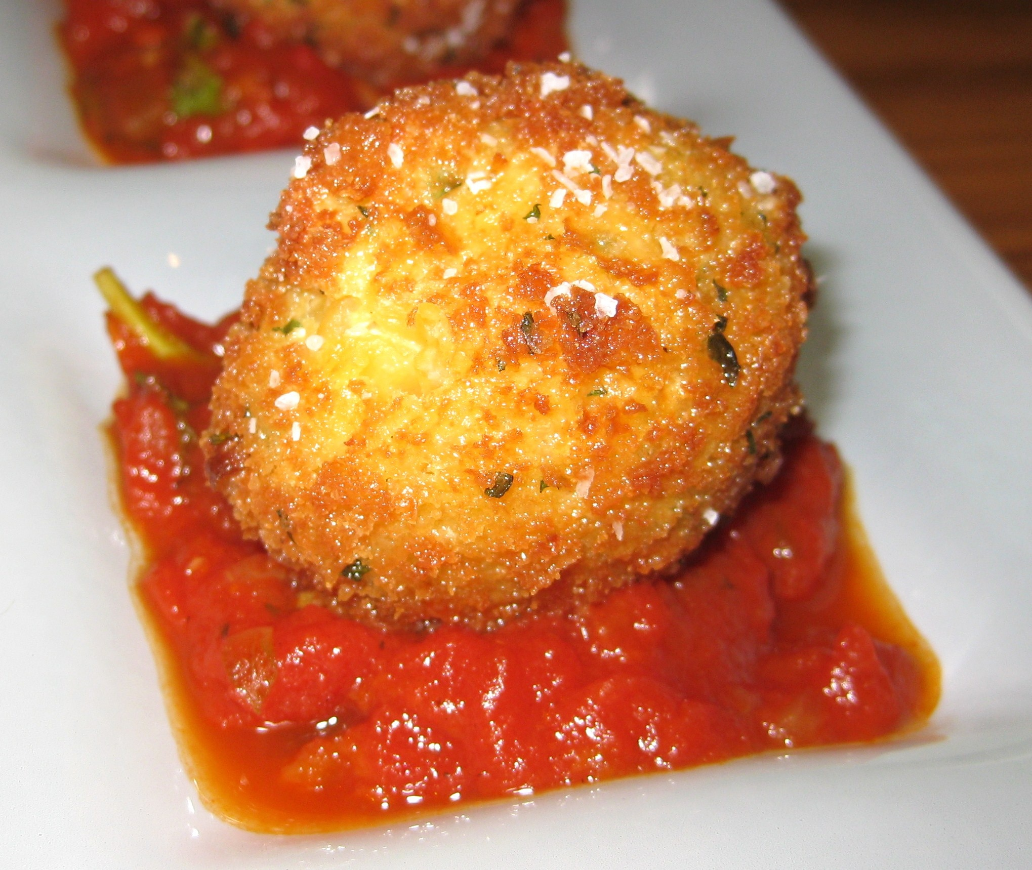 Rice Croquettes (Suppli Al Telefono) Recipes — Dishmaps