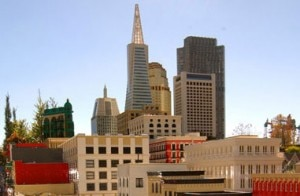 san francisco 300x196 Miniaturized LEGO version of downtown San Francisco