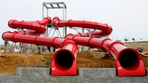 waterpark red slides 300x168 Water Park slides
