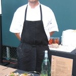 Chef Brendan Collins, from Waterloo & City, in Culver City