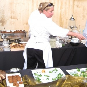 Chef Shelley Cooper, from First & Hope Supper Club in Los Angeles