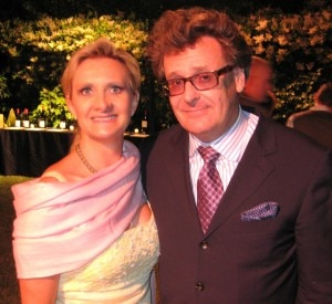 gregproops 300x275 Actor/comedian Greg Proops acting as auctioneer, with Sophie Gayot
