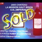 Imperial of 2005 Château La Mission Haut-Brion for $22,000