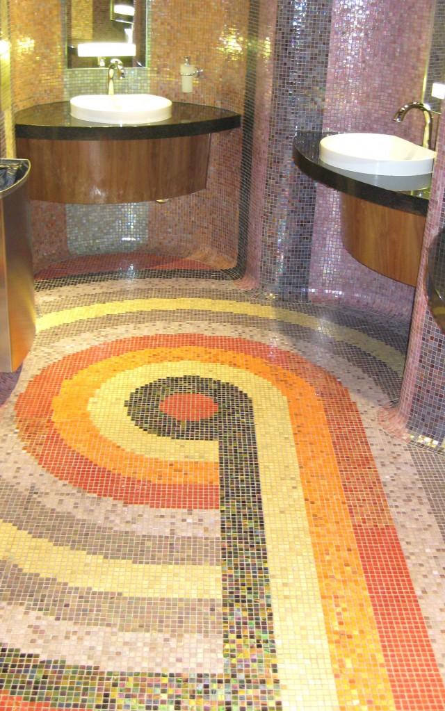 Multicolor mosaic