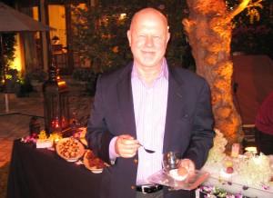 Radio host Rudy Maxa