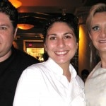 Water Grill executive chef David LeFevre & sous-chef Amanda Baumgarten with Sophie Gayot