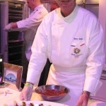Chef Thierry Dufour from Hotel Marquis Los Cabos, with his duck tartare