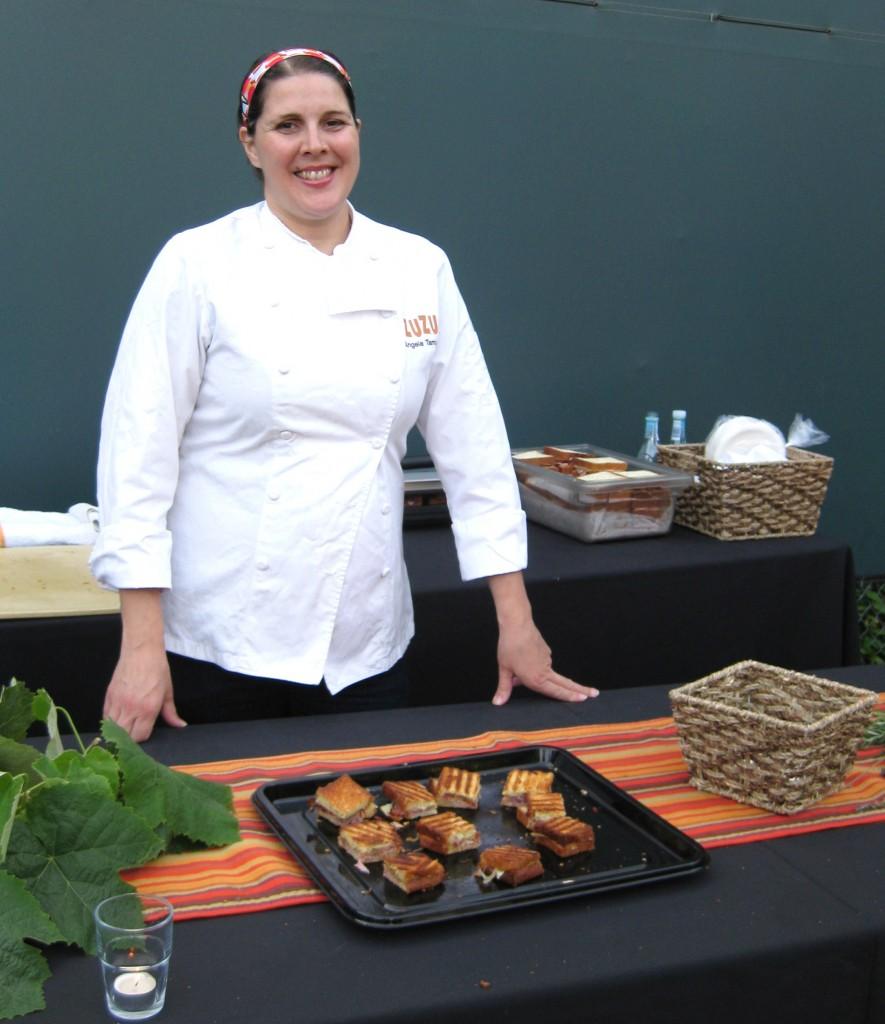 Chef Angela Tamura from Zuzu in Napa