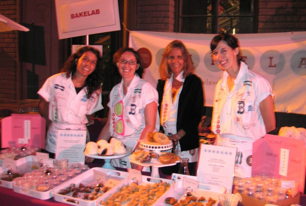 The team from the artisanal bakeshop Bakelab