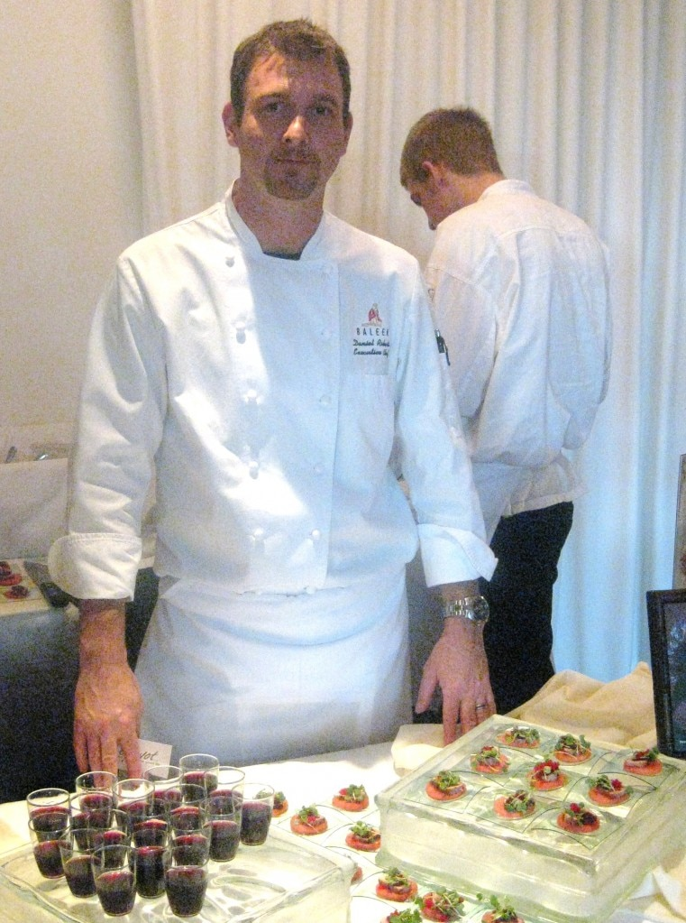Executive chef Daniel Roberts from Baleen Los Angeles