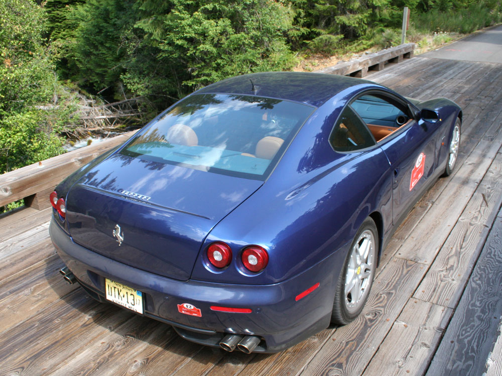 612 Scalietti racing over bridge