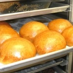 House-made brioche buns for the burger
