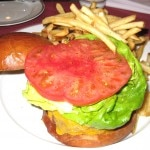 New on the menu at Bouchon Beverly Hills: a beef burger