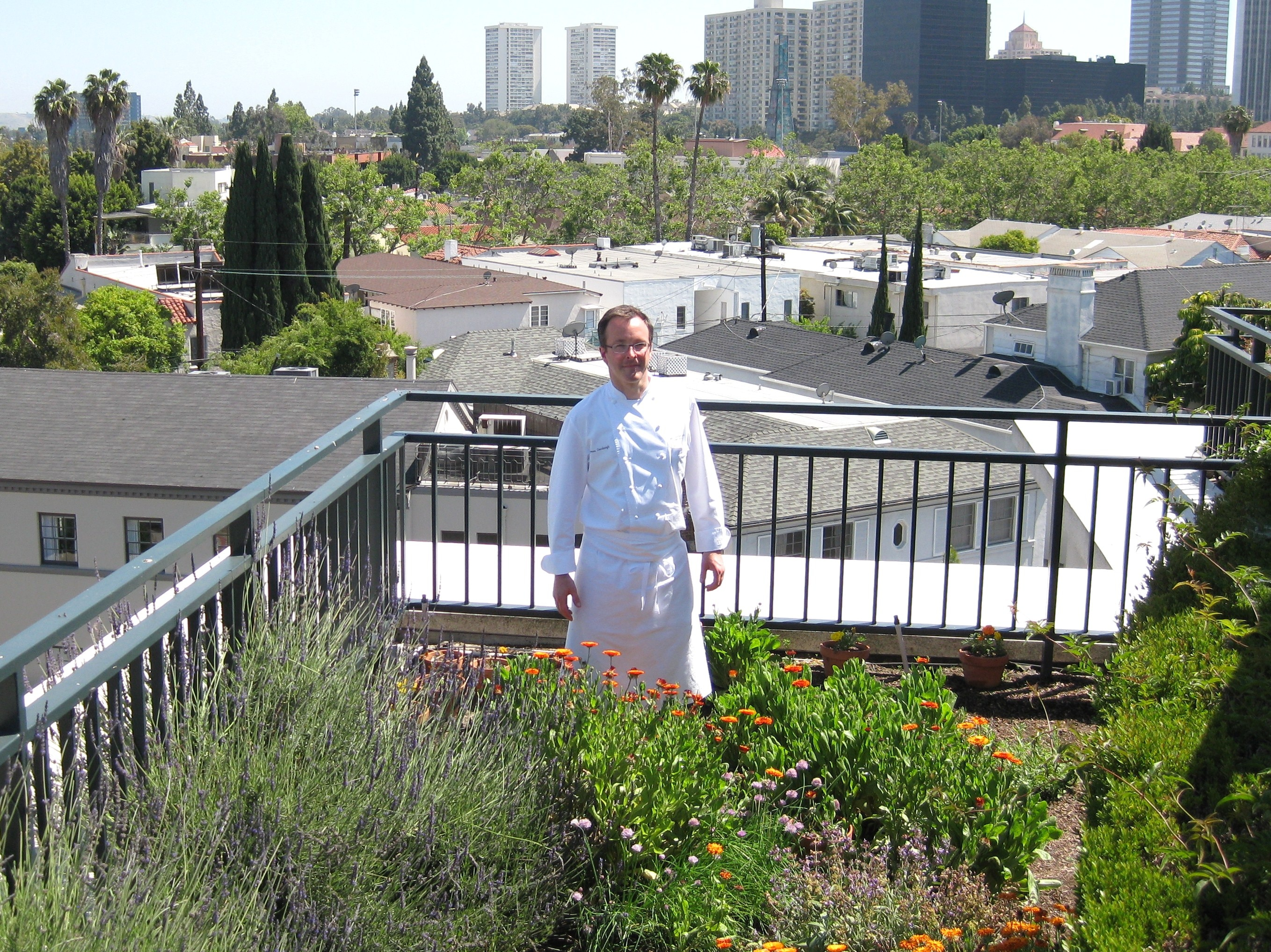 chef james overbaugh from the belvedere restaurant at the