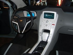 chevrolet electric car volt1 300x225 Steering console