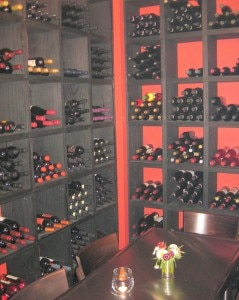 cube restaurant privateroom 239x300 A private room in the wine cellar