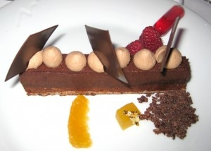 Chocolate dessert from The Bazaar