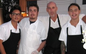 evarestaurant 300x188 Chef Marc Gold (with the black eperon) of Eva Restaurant