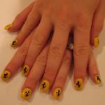 ferrari manicure nails  150x150 Ferrari Style