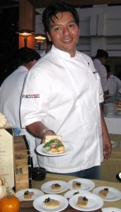Chef Raymond Garcia from Fig restaurant Santa Monica