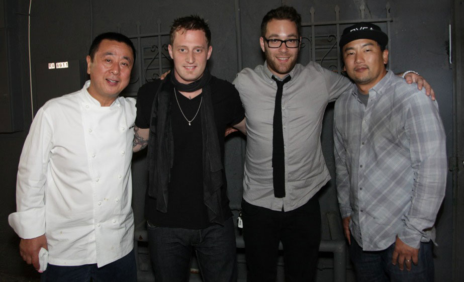 Chef powerhouse: Nobu Matsuhisa, Michael Voltaggio, Ilan Hall and Roy Choi
