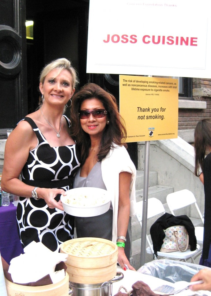 Beulah Ku, co-owner/partner of Joss Cuisine/Traditional with Sophie Gayot