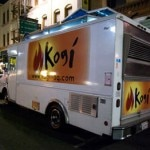 The popular Kogi food truck in the LA-area serves up a fusion of Korean and Mexican cuisine