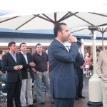 Sam Nazarian and Mayor Richard Riordan