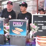 Pink's Hot Dogs and their famous hot dogs