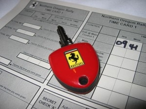 red ferrari key 300x225 Key and time chart