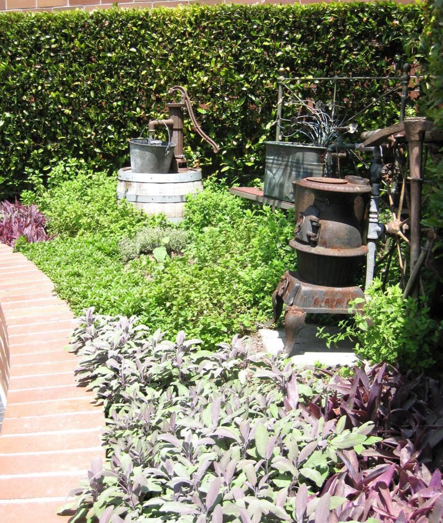 Tiato herb garden