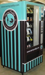 The Nanny Caddy vending machine