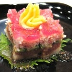 sushicake 150x150 Sushi at Royal T, in Culver City