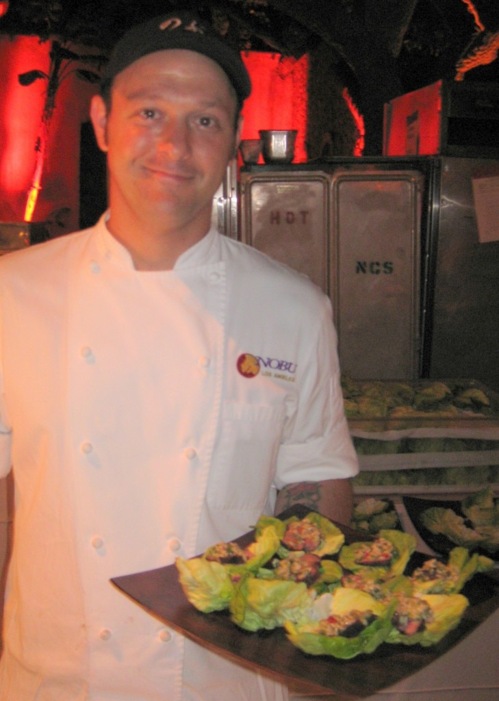 Alex Becker, executive chef at Nobu West Hollywood