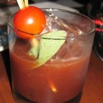 Bloody Mary by mixologist Joel Black