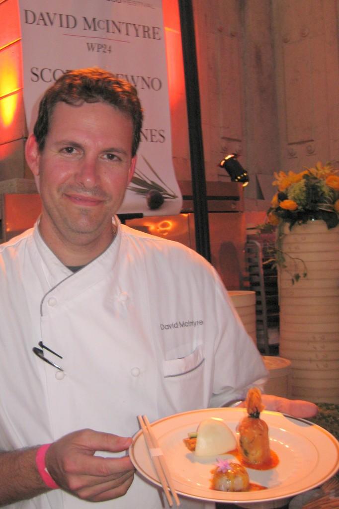 David McIntyre, chef de cuisine at WP24