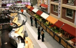 Eataly Food Hall in the Flatiron District of NYC