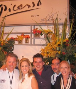 Chef Julian Serrano, Chef/Radio Host Jamie Gwen, chef Perfecto Rocher, Producer Lana Sills