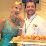 Oliverio restaurant at the Avalon Hotel, chef Mirko Paderno with Sophie Gayot