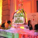 Patron Tequila stand