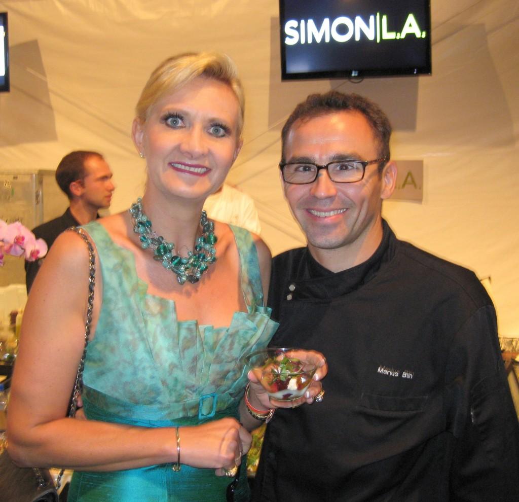 Simon L.A. restaurant, chef Marius Blin