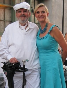 Paul Prudhomme with Sophie Gayot
