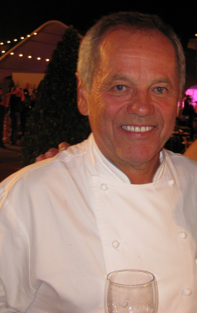 Spago Beverly Hills restaurant, chef/owner Wolfgang Puck