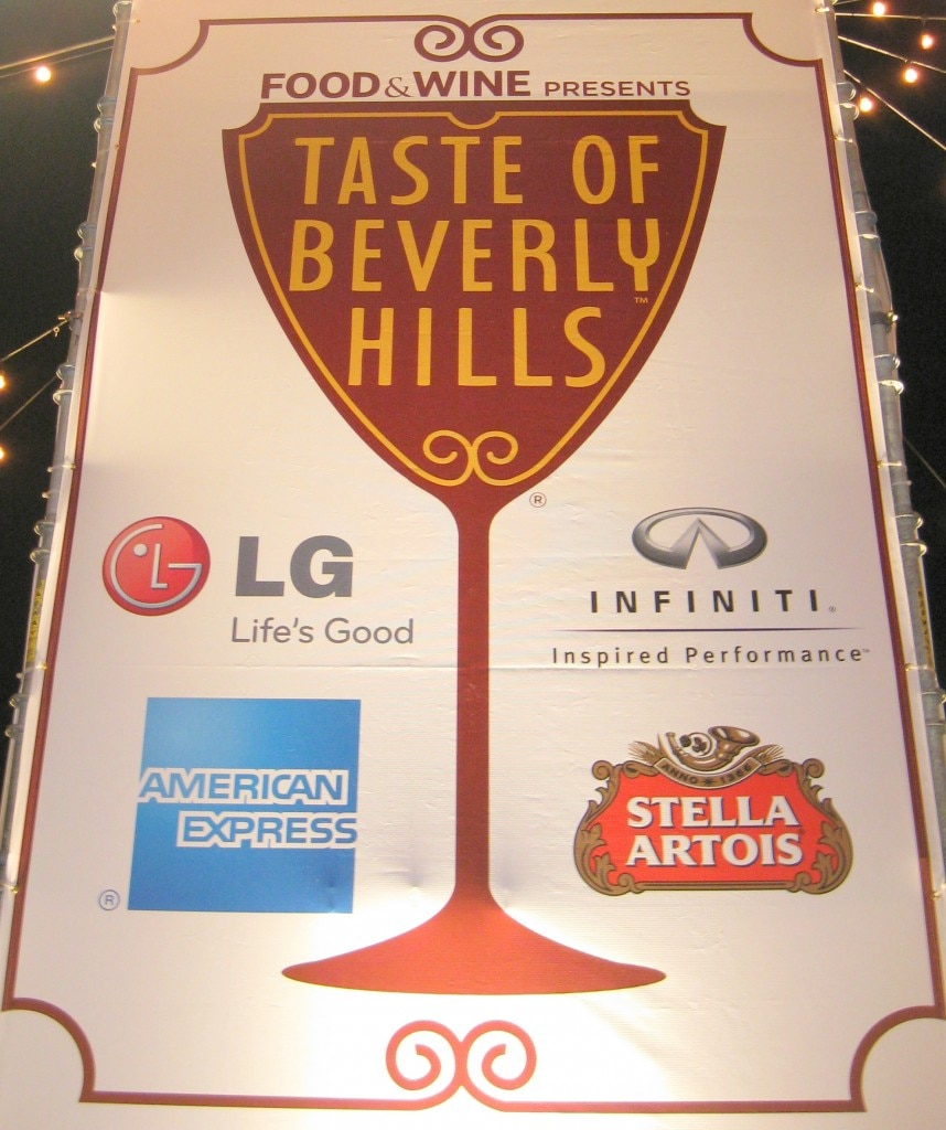 First edition of Taste of Beverly Hills