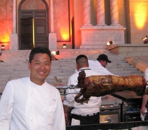 Tetsu Yahagi, chef de cuisine at Spago Beverly Hills