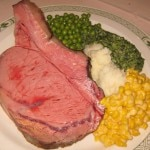 The Lawry Cut: traditional and most popular cut of prime rib