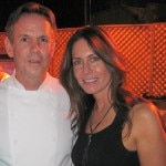 Chef Thomas Keller with Laura Cunningham