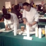 Chefs showcasing their skills