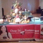 The Chop Stix Restaurant of NYC showing off their wares