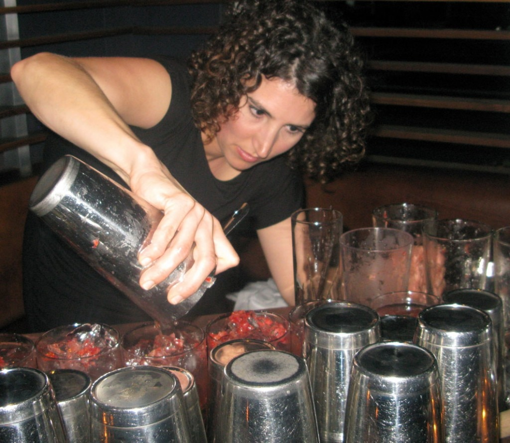 Mixologist Charlotte Cramer from BOA Steakhouse